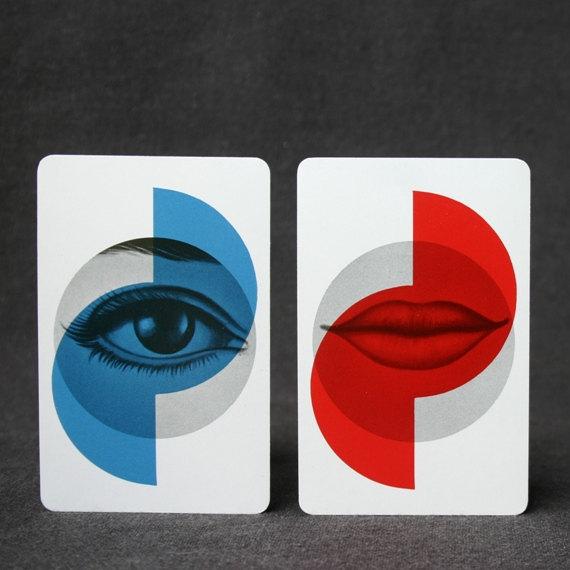 Lips and Eyes Image